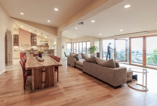 Hilliside Residence Ventura CA | living room daytime