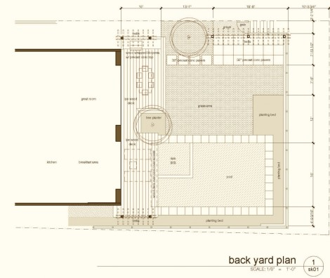 Palisades back yard plan