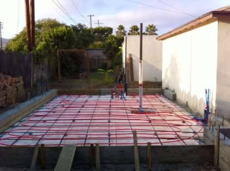 Jones St Studio | sub slab foam insulation | CJ Paone architect