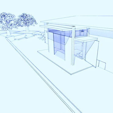 Residential Entry Somis CA CJ Paone architect
