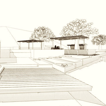Somis residence exterior site Somis CA CJ Paone architect