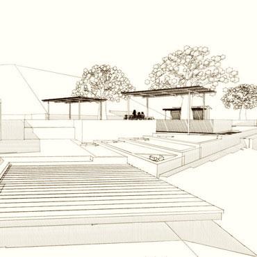 Somis residence exterior site Somis CA CJ Paone architect