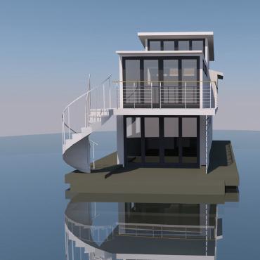 Modern Houseboat | Ventura Harbor Marina