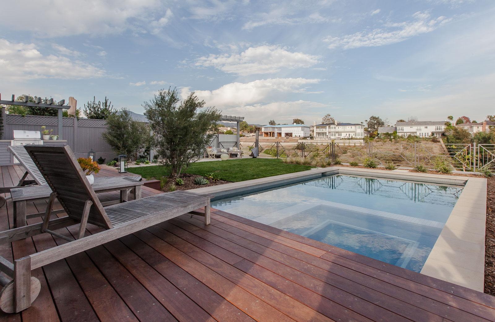Depauw pool and landscape cj paone aia ventura ca for Pool design ventura