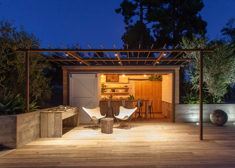Somis Poolhouse AIASB Design Awards 2015