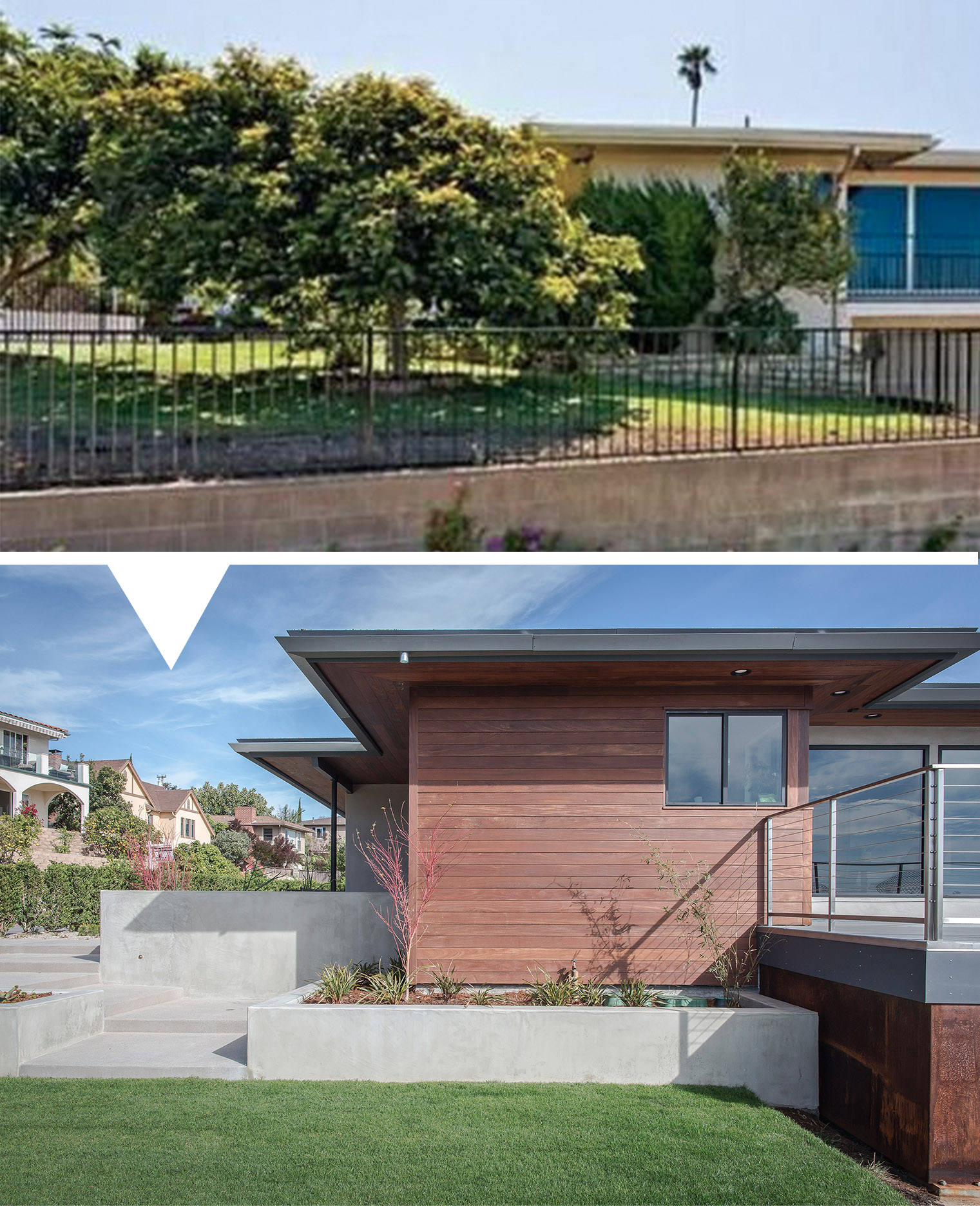 Modern House Exterior Materials: Making A Mid-century Modern Again Part 2
